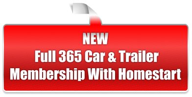 NEW  Full 365 Car & Trailer Membership With Homestart